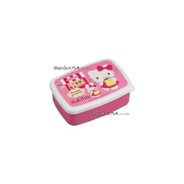 microwavable bento lunch box hello kitty. Black Bedroom Furniture Sets. Home Design Ideas