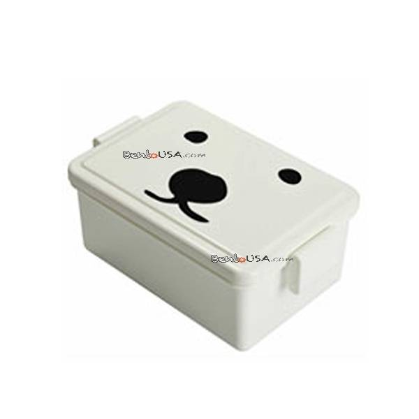 gel cool bento lunch box with built in gel cool lid system 400ml polar bear. Black Bedroom Furniture Sets. Home Design Ideas