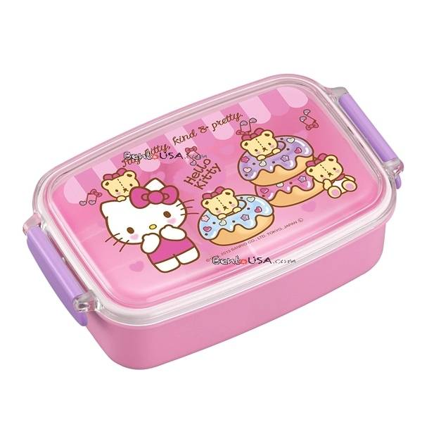 microwavable 500ml hello kitty bento lunch box. Black Bedroom Furniture Sets. Home Design Ideas