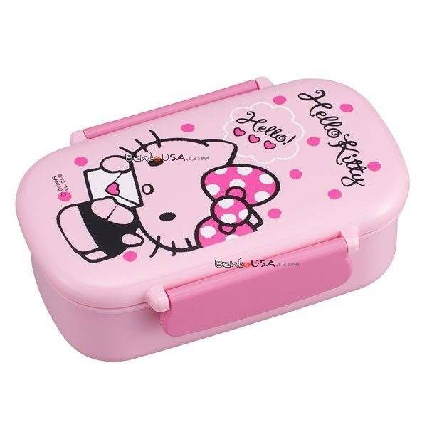 microwavable 450ml hello kitty bento lunch box. Black Bedroom Furniture Sets. Home Design Ideas