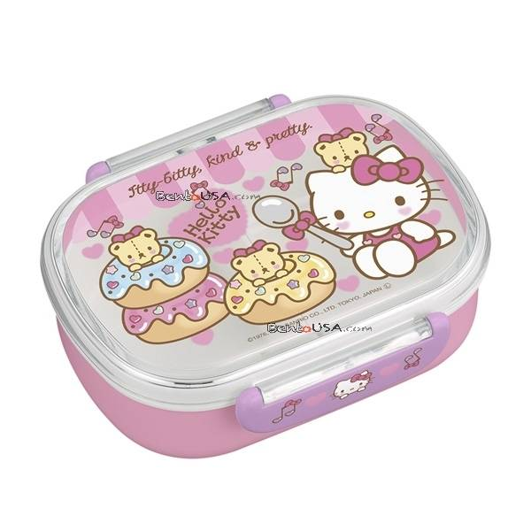 microwavable 360ml hello kitty bento lunch box. Black Bedroom Furniture Sets. Home Design Ideas