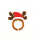 Food Decorating Party Ring Deer Hat Antler Finger Puppet