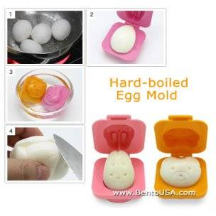 rabbit bear egg shaper