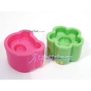 Japanese Bento Rice Mold Shaper BEAR FLOWER