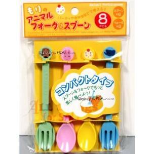 Japanese Bento Box Accessories Mini Fork Spoon set of 8