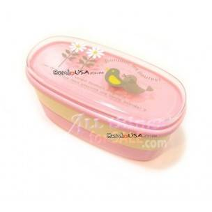 Authentic Japanese Bento Box Lunch Box Bonjour Pink
