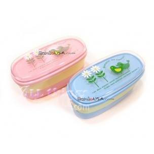 Authentic Japanese Bento Box Lunch Box Set of 2 Bonjour