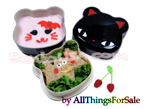 Simple Halloween Bento recipe