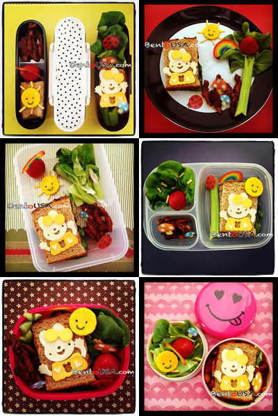 #Bento #Beginner Guide. Same lunch with different containers for #Kids #School #Lunch