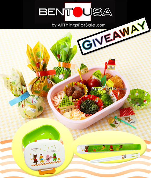 Bento Box and Bento Beginner Kit Giveaway by AllThingsForSale Bento USA