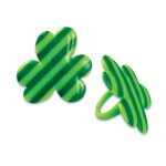 BentoUSA New Arrival Bento Cupcake Decoration Pick and Ring St Patrick Day