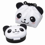 Panda Kids Bento Lunch Box set with Bag