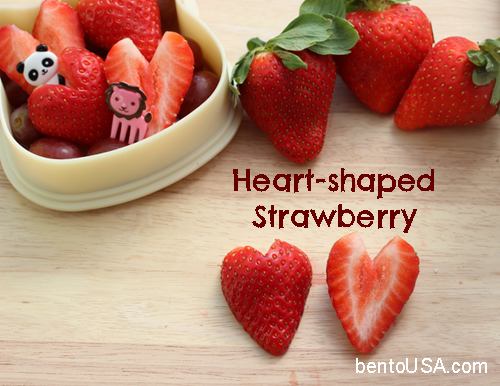 How to cut Heart shape strawberry