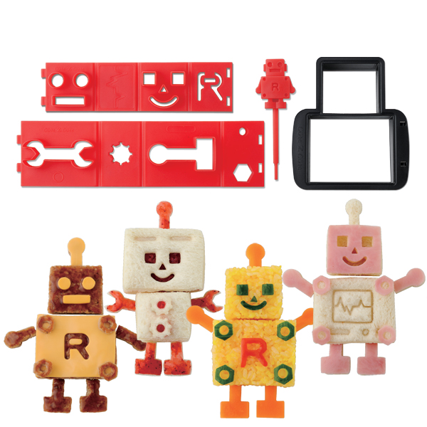New Robot Sandwich Cutter - CuteZCute Robo Bread - a must-have bento tool