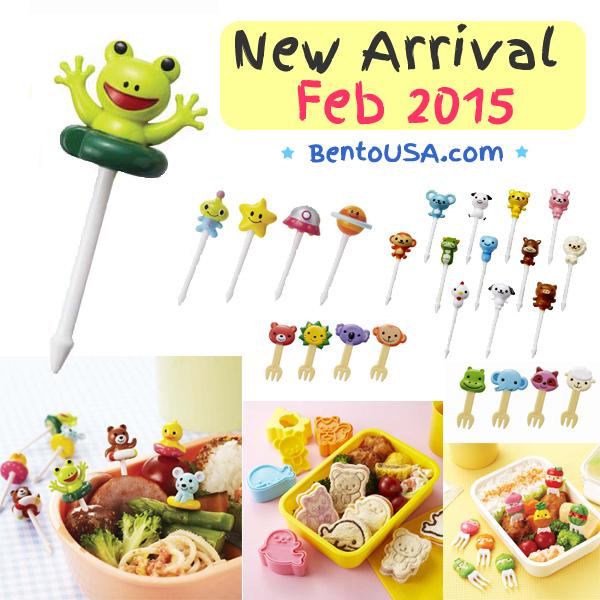 BentoUSA New Bento Food Picks for cute lunch box