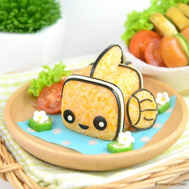 3D Nemo rice ball