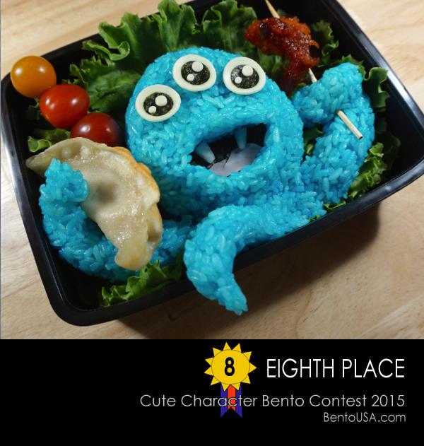 Alien Smorgasbord - fun kids school lunch in bento box