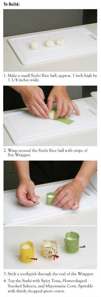 Soy Wrap Sushi Recipe
