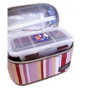 Korean Lock and Lock bento box set, lunch box set
