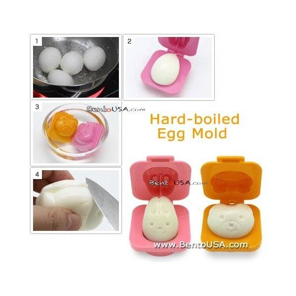 hard boiled egg mold rabbit bear shape
