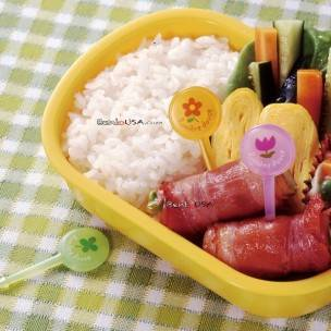 Japanese Bento Lunch Decoration Food Pick Spring 12 pcs