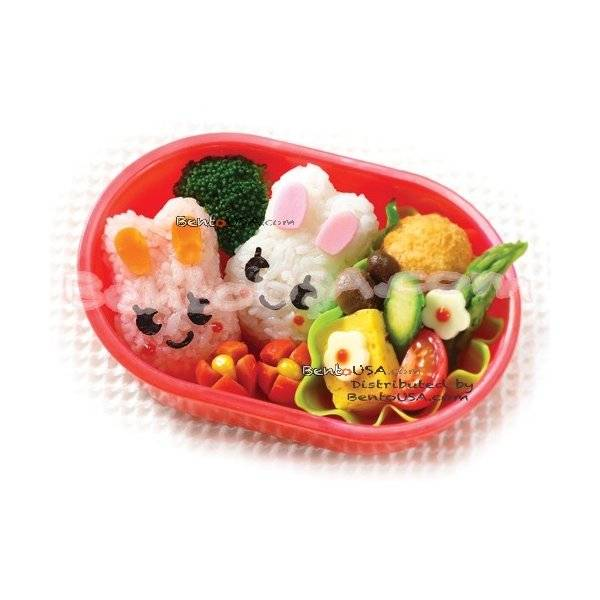 bento lunch decoration accessories beginner kit rabbit for out of. Black Bedroom Furniture Sets. Home Design Ideas
