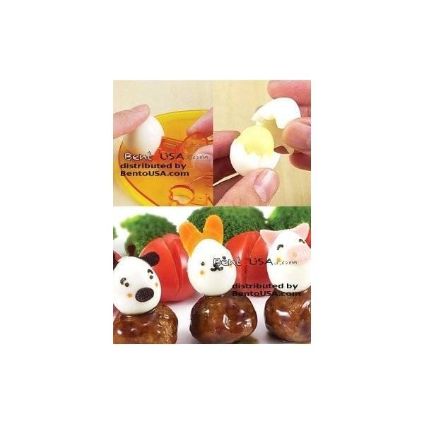 Decorative Bento Cutter Ham Cheese Cutter Set with Nori Puncher