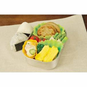 Silicone Microwavable Reusable Bento Baran and Food Cup Lettuce Leaf 8 pcs