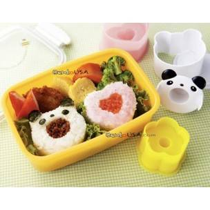 Japanese Bento Cooking Omusubi Rice Mold Set Wow