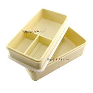Japanese Bento Box 3 tier Lunch Box with Strap and Chop Green