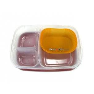 silicone cup in bento lunch container
