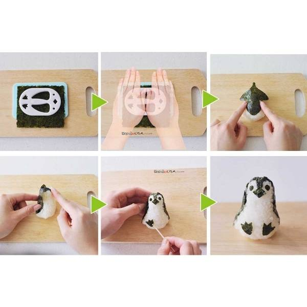 Fun food rice mold kit - Baby Penguin