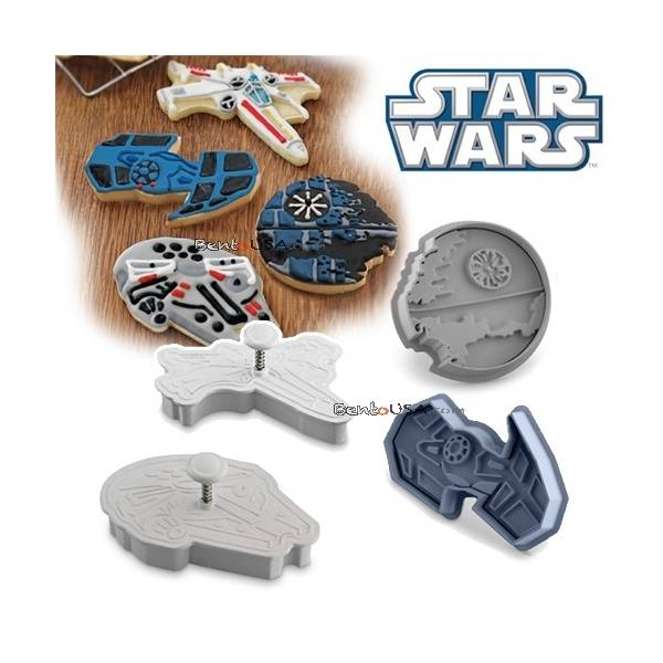 Star Wars Vehicle cookie cutter set