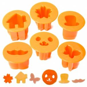 CutezCute vegetable cutter, fun face carrot