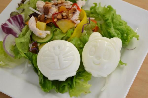 Doraemon Dorami Egg Mold, hard-boiled egg shaper