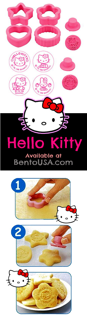 Hello Kitty Cookie Cutter Pastry Mold dessert